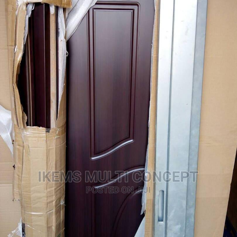 Ameriacn Steel Internal Doors and Wooden Doors | Building & Trades Services for sale in Dei-Dei, Abuja (FCT) State, Nigeria