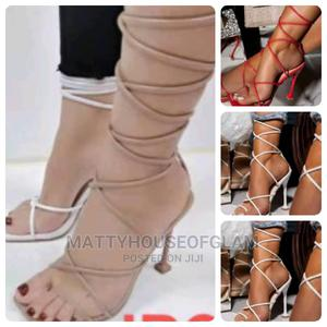 High Heel Sandals With Rope   Shoes for sale in Lagos State, Lekki