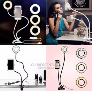 Phone Stand With Led Selfie Light   Accessories for Mobile Phones & Tablets for sale in Lagos State, Ikeja
