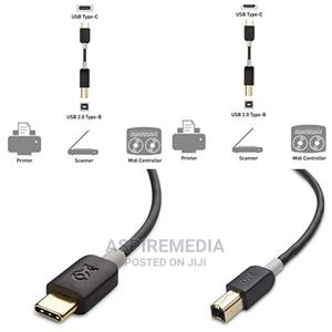 USB C Printer Cable ,USB-C To Printer Cable   Accessories & Supplies for Electronics for sale in Lagos State, Ikeja