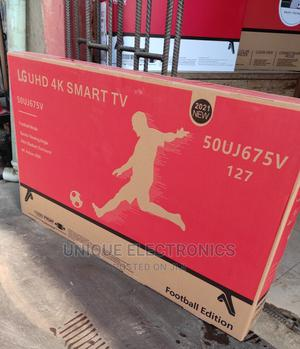 LG 50''inch Uhd 4K Smart TV Android Playstore +Netflix Mount | TV & DVD Equipment for sale in Lagos State, Ojo