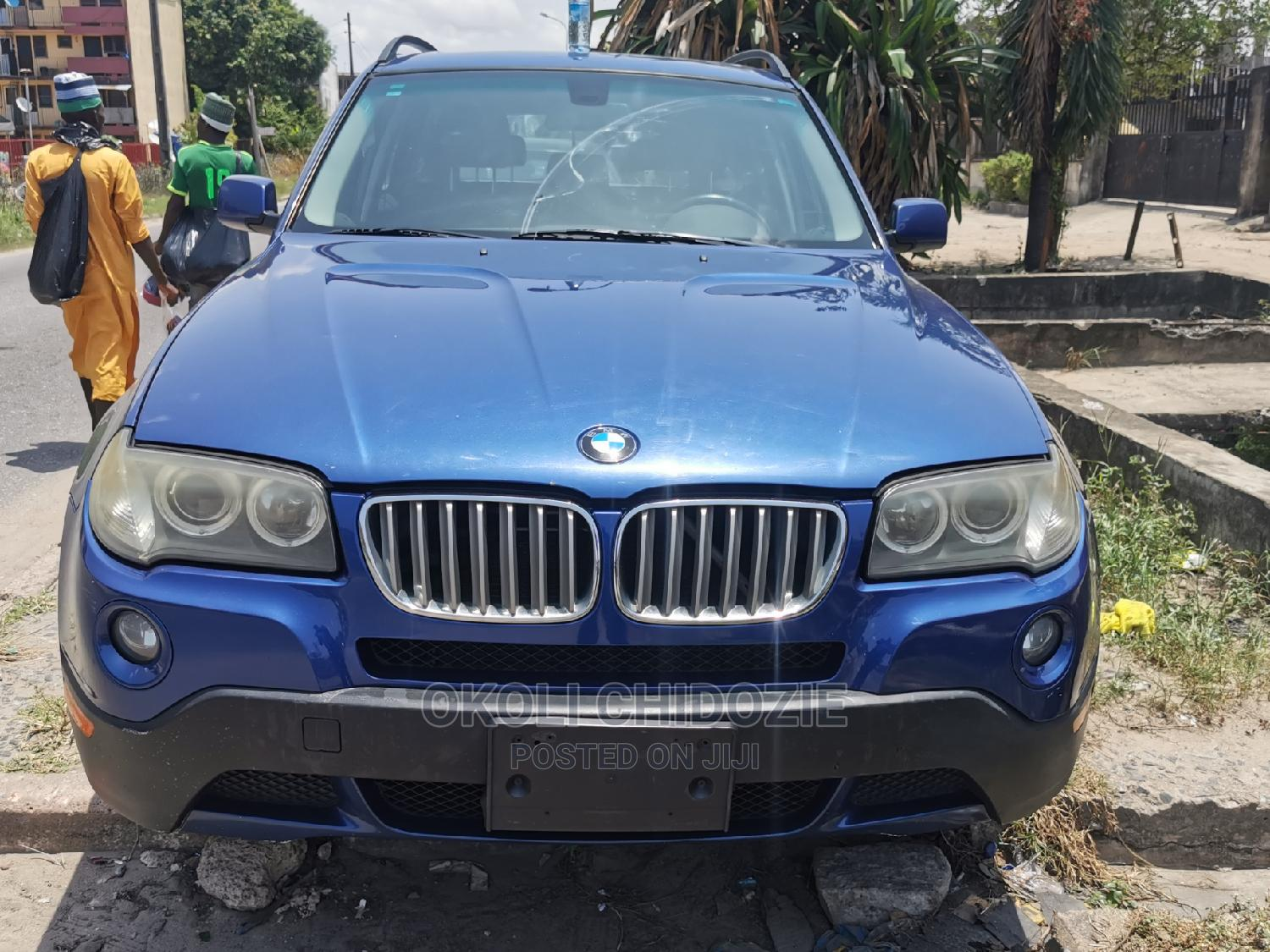 BMW X3 2007 3.0si Exclusive Automatic Blue
