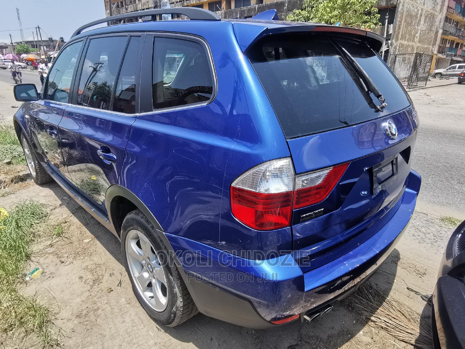 BMW X3 2007 3.0si Exclusive Automatic Blue | Cars for sale in Amuwo-Odofin, Lagos State, Nigeria