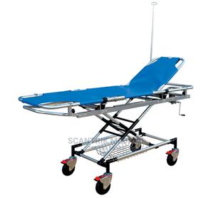 Patient Transport Ambulance Stretcher With Drip Stand | Medical Supplies & Equipment for sale in Abuja (FCT) State, Lokogoma
