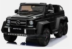 Mercedes Benz G63 6x6 Children'S Electric Ride on Jeep Black   Toys for sale in Lagos State, Lagos Island (Eko)