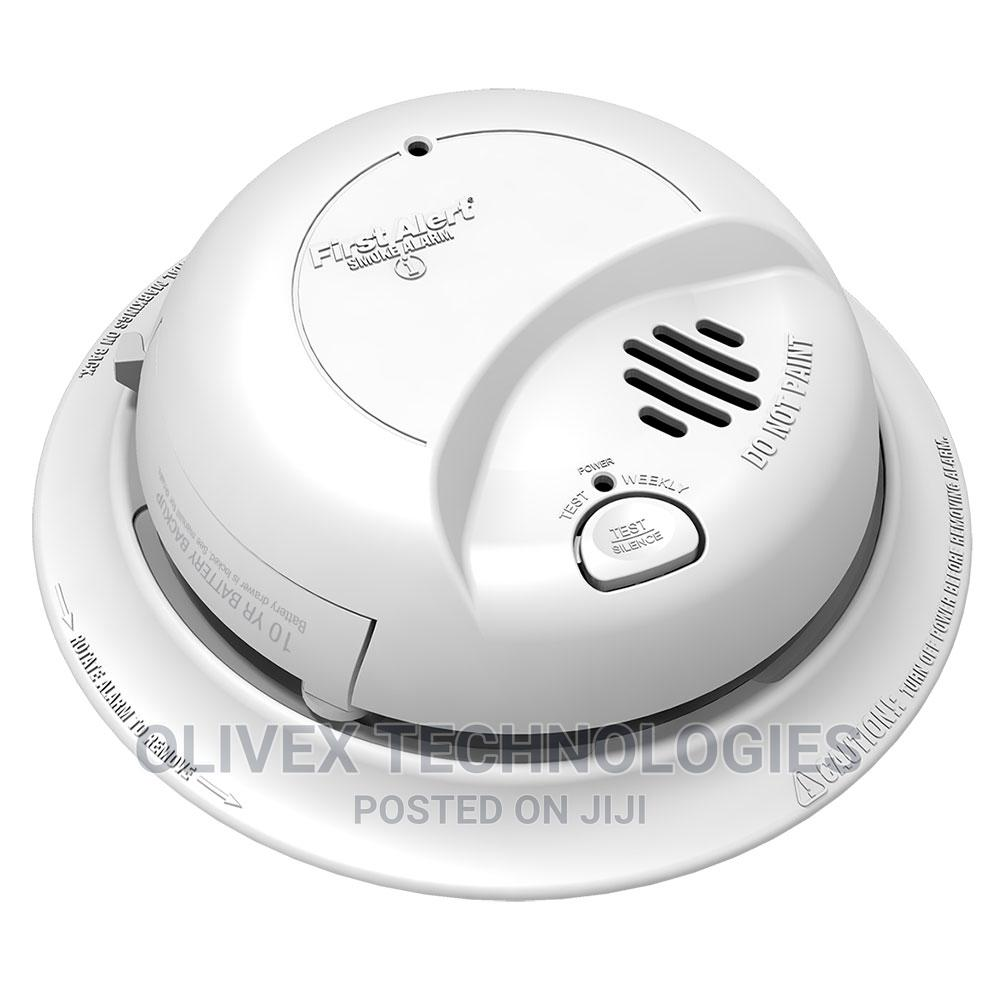 Wifi Smoke Detector Camera With Battery Backup   Safetywear & Equipment for sale in Gwarinpa, Abuja (FCT) State, Nigeria