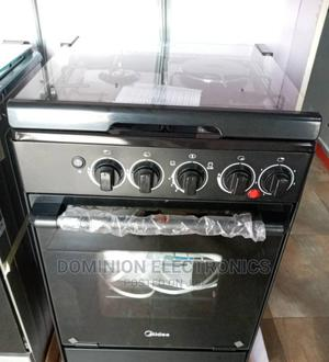 Brand New Midea Gas Cooker (3+1) Oven Automatic Blue Flame | Kitchen Appliances for sale in Lagos State, Ojo