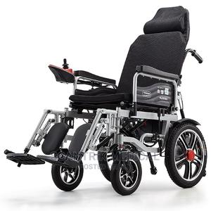 Electronic Wheelchair Folding | Medical Supplies & Equipment for sale in Abuja (FCT) State, Mpape