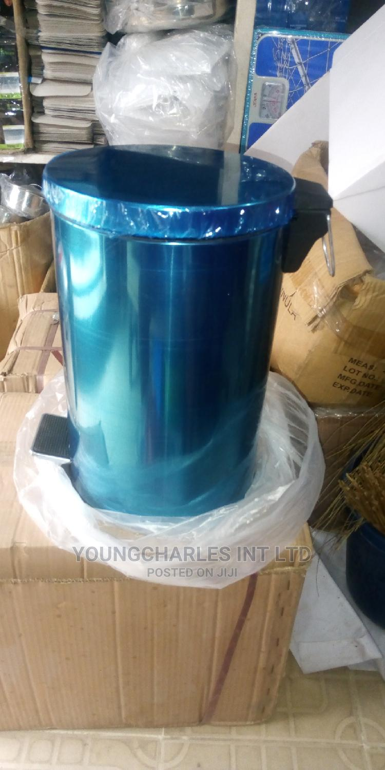 Stainless Pedal Waste Bin.   Home Accessories for sale in Orile, Lagos State, Nigeria