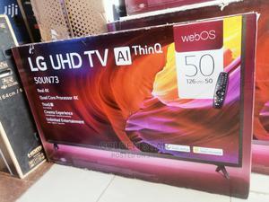 "New LG 50""Inch UHD TV Thinq MAGIC Remote &Satellite Smart TV | TV & DVD Equipment for sale in Lagos State, Victoria Island"