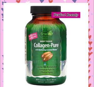 Irwin Naturals Collagen-pure Deep Tissue 80 Liquid Soft-gels | Vitamins & Supplements for sale in Lagos State, Ikeja