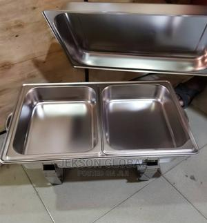 Original Stainless Steel Serving Dish Plate | Restaurant & Catering Equipment for sale in Lagos State, Ojo