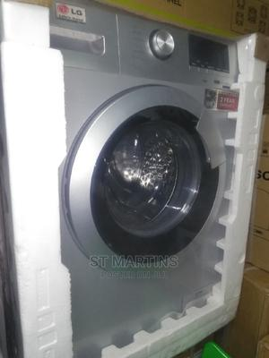 LG 10kg Washing and Spinning Machine With Two Years Wrnty. | Home Appliances for sale in Lagos State, Ojo
