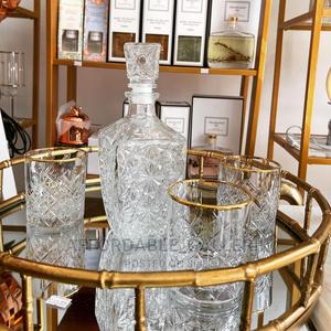 5 Pieces Luxury Whiskey Glass Cup and Decanter | Kitchen & Dining for sale in Lagos State, Ifako-Ijaiye