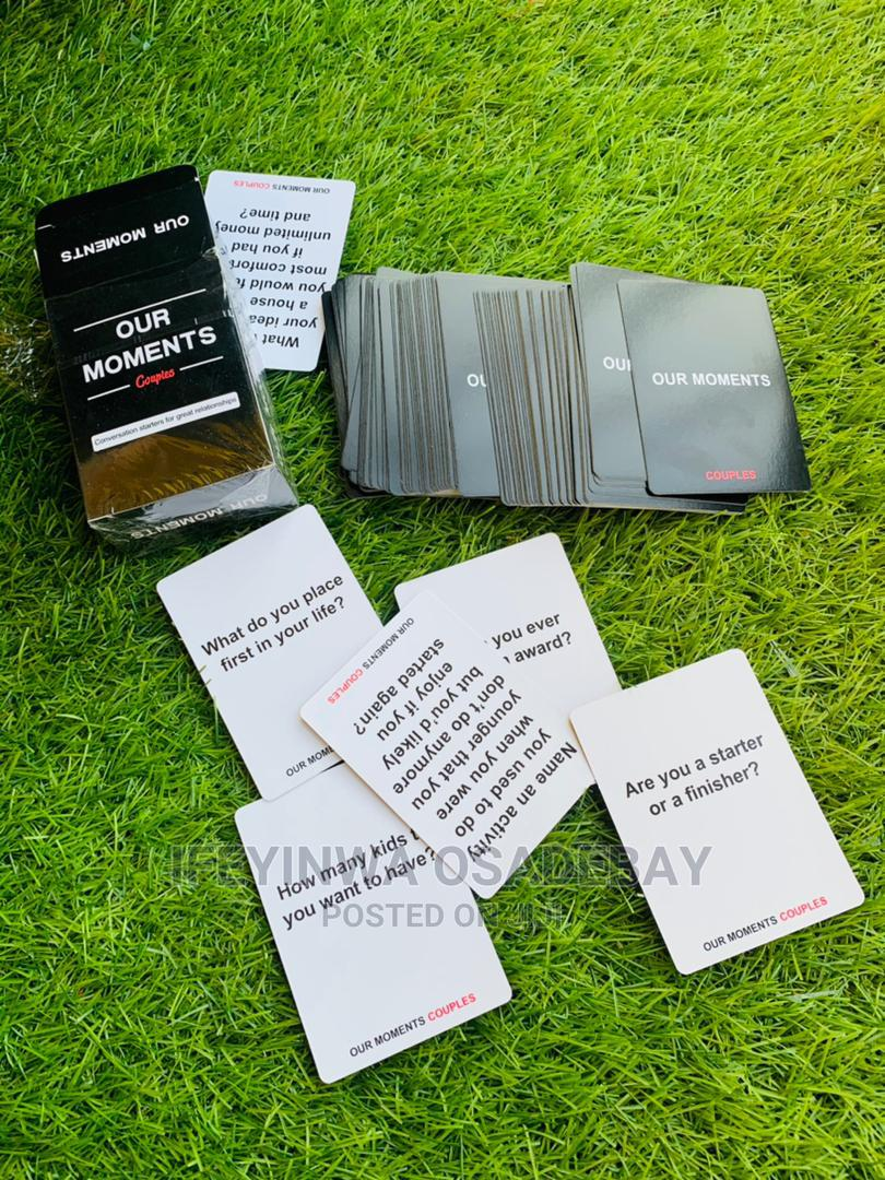 Our Moments - Card Games for Couples | Books & Games for sale in Kubwa, Abuja (FCT) State, Nigeria