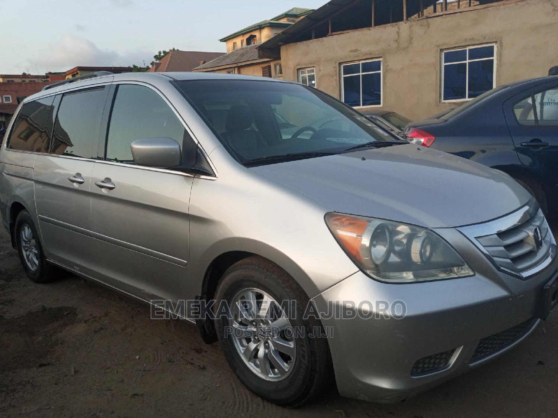 Honda Odyssey 2008 EX-L DVD Silver | Cars for sale in Ojo, Lagos State, Nigeria