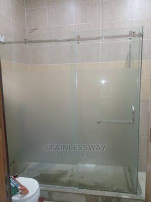 A Flat Pipe Sliding Shower Cubicle   Plumbing & Water Supply for sale in Abuja (FCT) State, Asokoro