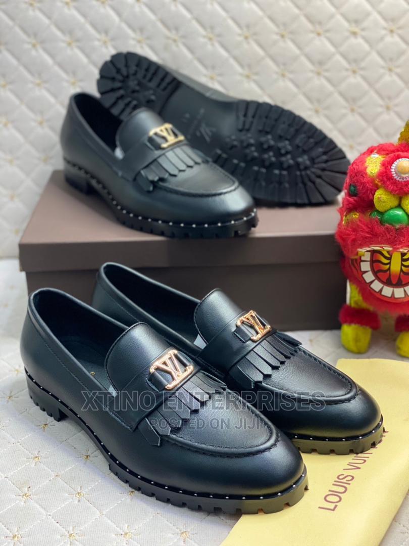 Louis Vuitton Loafers Corporate Shoe Original