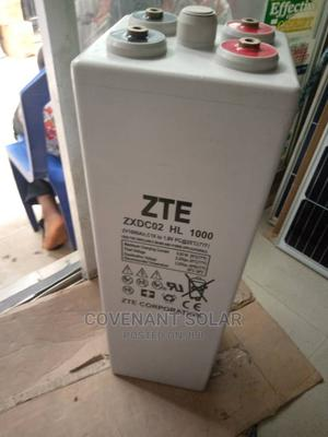 ZTE 2v 1000 Ahs Tubular Battery With Super Quality   Solar Energy for sale in Lagos State, Amuwo-Odofin