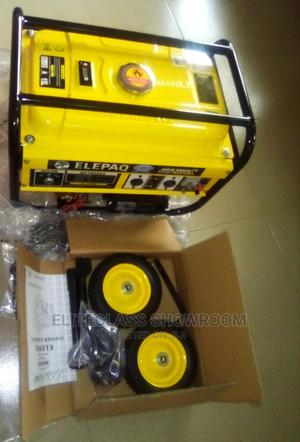 Elepaq Sv7800 5Kva Automatic Generator With Tyres Key And Handle | Electrical Equipment for sale in Lagos State, Ikeja