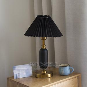 Pleated Decorative Bed Side Lamp | Home Accessories for sale in Lagos State, Ikeja