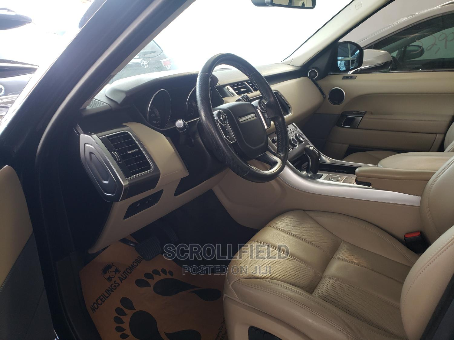 Land Rover Range Rover Sport 2015 Black   Cars for sale in Surulere, Lagos State, Nigeria