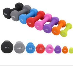 New Portable Aerobics Dumbbells Per 1kg | Sports Equipment for sale in Rivers State, Port-Harcourt