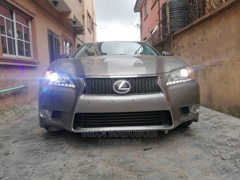 Lexus GS 2015 Gray