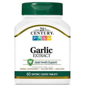 21st Century Garlic Extract for Heart Circulatory System S | Vitamins & Supplements for sale in Lagos State, Ojo