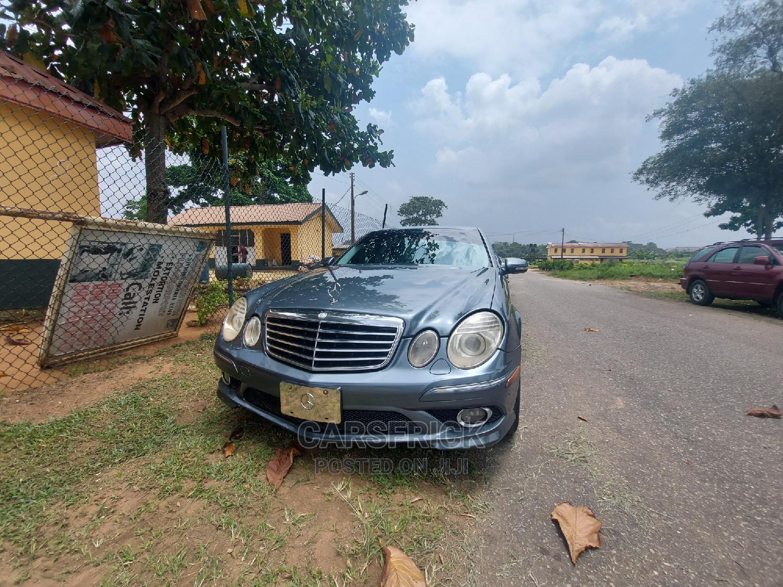 Mercedes-Benz E350 2009 Gray