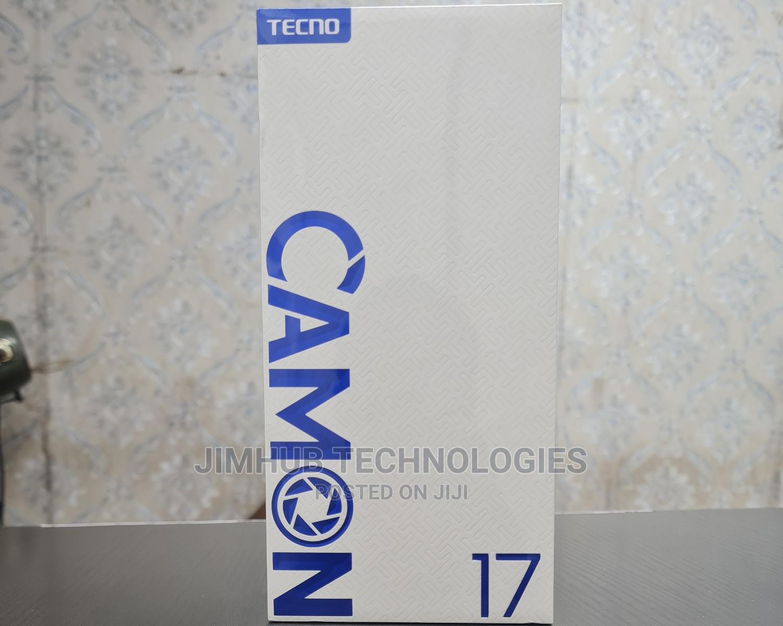New Tecno Camon 17 128 GB Blue