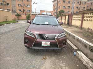 Lexus RX 2014 350 AWD Red | Cars for sale in Lagos State, Ikeja