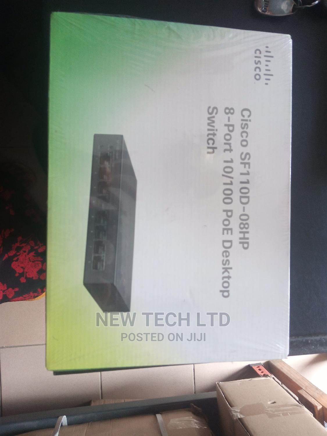 Cisco Desktop Switch+4poe (8port) | Networking Products for sale in Ikeja, Lagos State, Nigeria