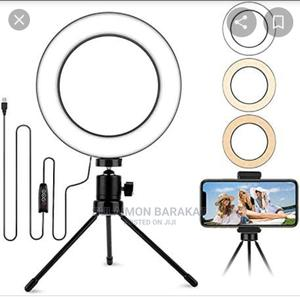 6inches Ringlight With Table Stand | Salon Equipment for sale in Lagos State, Yaba