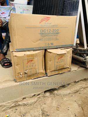 200ah 12v Original Ritar Battery   Solar Energy for sale in Lagos State, Ajah