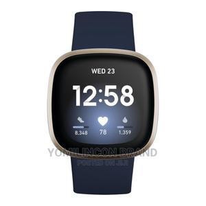 Amazon Fitbit Versa 3   Smart Watches & Trackers for sale in Lagos State, Ikeja