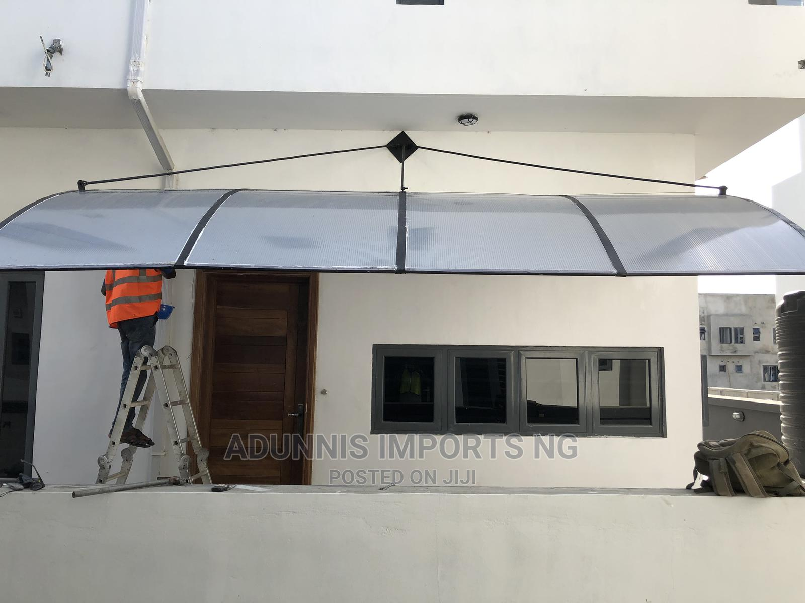 Archive: Facadie Window Door Canopy Downparlour Polycarbonate Awning