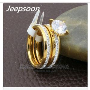 Crystal Wedding Ring Set | Wedding Wear & Accessories for sale in Lagos State, Surulere
