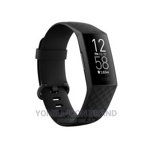 Fitbit Charge 4 Watch - Black.   Smart Watches & Trackers for sale in Lagos State, Ikeja