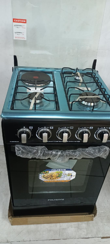 Polystar 50*50cm 3 Gas Burner 1 Electric,Oven Auto Ignition