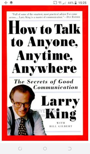 How to Talk to Anyone Anytime Anywhere   Books & Games for sale in Lagos State, Ajah