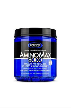 Amino Max 8000 - 325 Tabs   Vitamins & Supplements for sale in Lagos State, Lekki