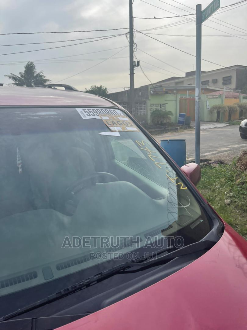 Honda Pilot 2006 EX-L 4x4 (3.5L 6cyl 5A) Red | Cars for sale in Ogba, Lagos State, Nigeria