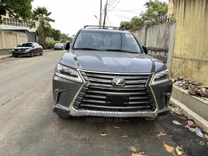 Lexus LX 2018 570 Two-Row Gray | Cars for sale in Lagos State, Surulere