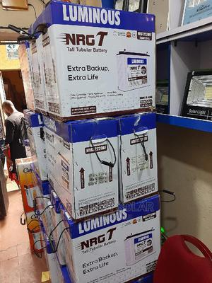 220ah 12v Tubular Battery Luminous India | Solar Energy for sale in Abuja (FCT) State, Central Business District