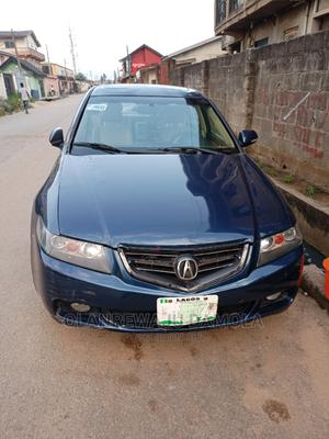Acura TSX 2005 Automatic Blue   Cars for sale in Lagos State, Ogba