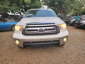 Toyota Tundra 2012 Double Cab 4x4 Limited White | Cars for sale in Abuja (FCT) State, Gwarinpa