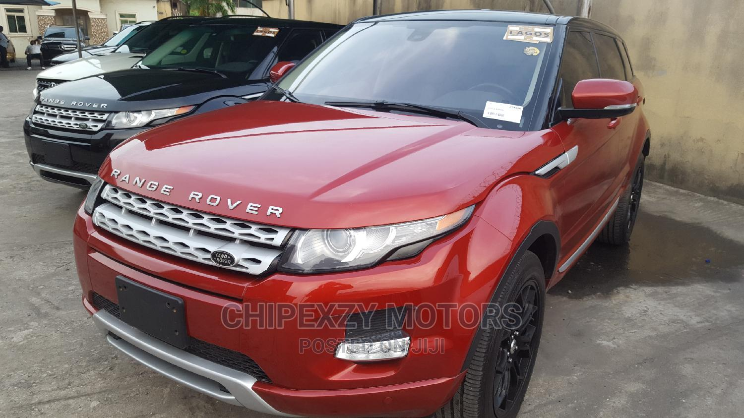 Land Rover Range Rover Evoque 2013 Pure AWD 5-Door Red   Cars for sale in Amuwo-Odofin, Lagos State, Nigeria