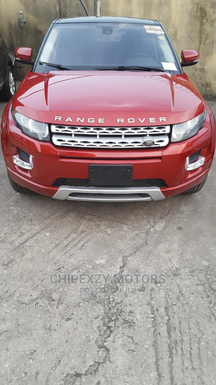 Land Rover Range Rover Evoque 2013 Pure AWD 5-Door Red