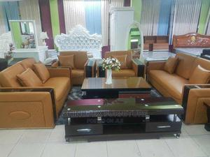 High Quality Italian Leather Sofa 7 Seaters | Furniture for sale in Lagos State, Ojo